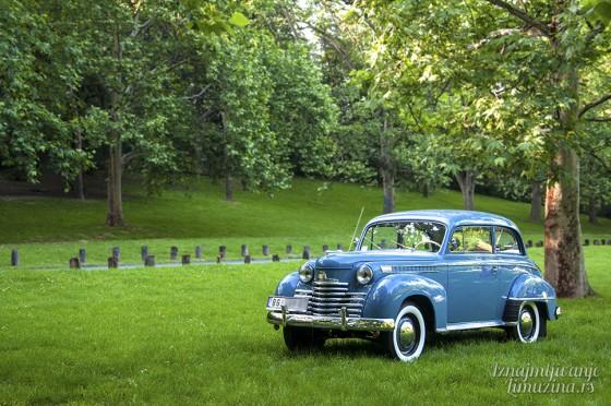 Iznajmljivanje oldtajmera Opel Olympia