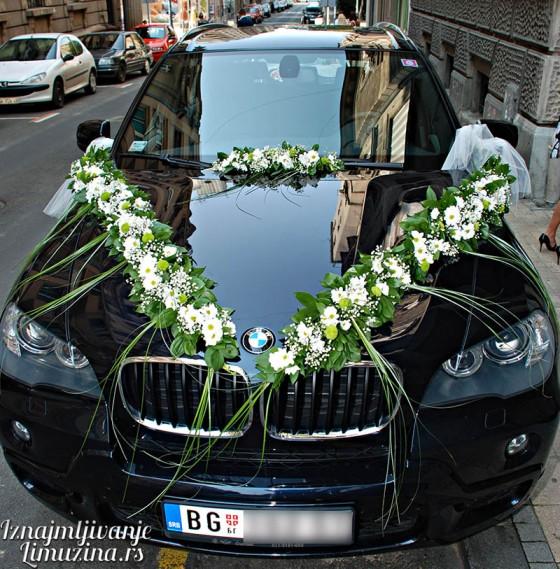 BMW X5 okicen svadba