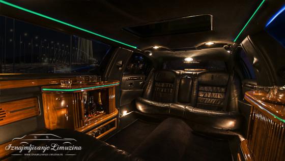 iznajmljivanje limuzina lincoln beogad