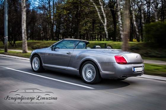 iznajmljivanje luksuznih vozila bentley gtc